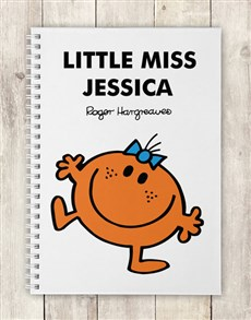 gifts: Personalised Little Miss Fun Notebook!