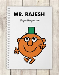 gifts: Personalised Mr Clever Notebook!