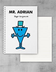 gifts: Personalised Mr Cool Notebook!
