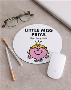 gifts: Personalised Little Miss Princess Mousepad!