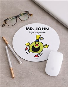 gifts: Personalised Mr Green Mousepad!