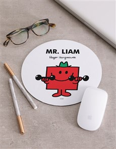 gifts: Personalised Mr Red Mousepad!