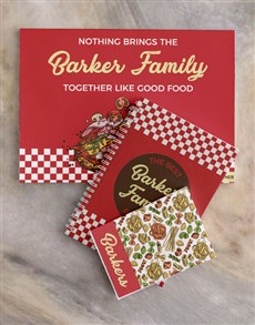 gifts: Personalised Family Meal Planner Set!