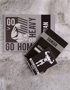 gifts: Personalised Exercise Goal Planner Set!