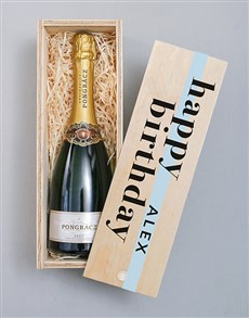 gifts: Personalised Pongracz Classique Printed Crate!