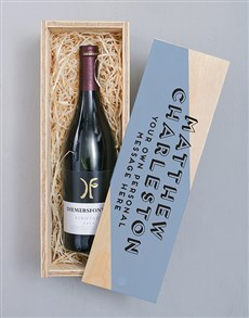 gifts: Personalised Diemersfontein Pinotage Crate!