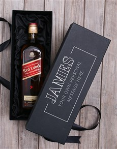 gifts: Personalised Johnnie Walker Wine Giftbox!