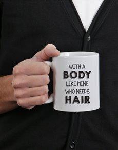 gifts: Personalised Body Like Mine Mug!