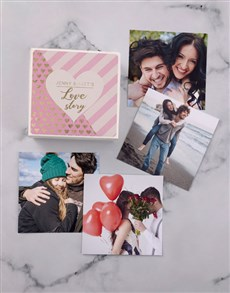 gifts: Personalised Love Story Photo Box!
