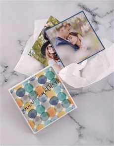gifts: Personalised Watercolour Photo Box!