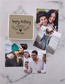 gifts: Personalised Birthday Love Photo Box!