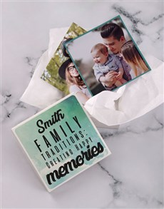 gifts: Personalised Family Traditions Photo Box!
