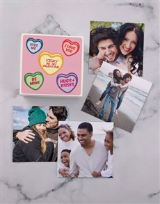 gifts: Personalised Sweet Hearts Photo Box!
