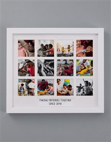 gifts: Personalised Making Memories Multi Photo Frame !