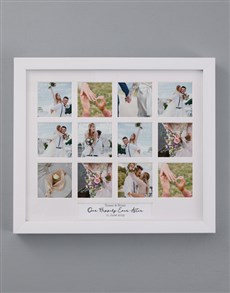 gifts: Personalised Happily Ever After Multi Photo Frame!