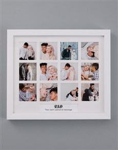 gifts: Personalised Initials Multi Photo Frame!