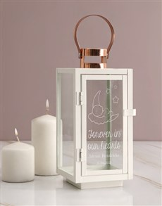 gifts: Personalised Forever In Our Hearts Lantern!