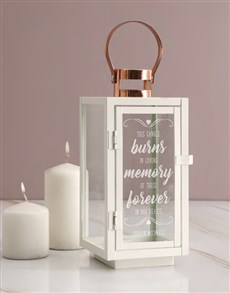 gifts: Personalised In Loving Memory Lantern!