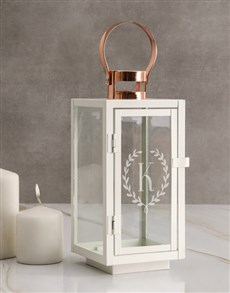 gifts: Personalised Monogram Lantern!