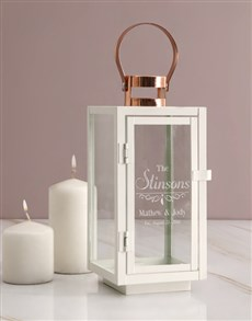 gifts: Personalised Couples Lantern!