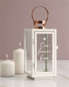 gifts: Personalised Forever Home Lantern!