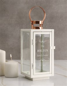 gifts: Personalised Family Home Lantern!