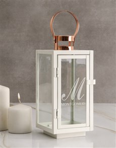 gifts: Personalised Monogram Name Lantern!