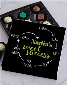 gifts: Personalised Sweet Success Choc Tray!