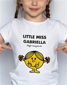 gifts: Personalised Miss Sunshine Kids T Shirt!