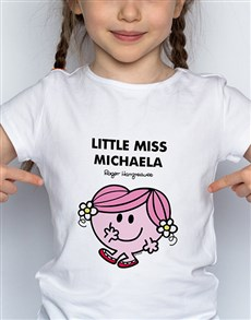 gifts: Personalised Miss Hug Kids T Shirt!