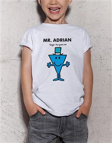 gifts: Personalised Mr Cool Kids T Shirt!