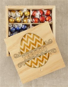gifts: Personalised Easter Egg Lindt Crate!