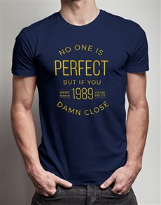 gifts: Personalised Almost Perfect T Shirt!