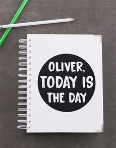 gifts: Personalised Today is Diary!