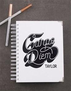 gifts: Personalised Carpe Diem Diary!