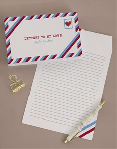 gifts: Personalised Letters To My Love Notebook!