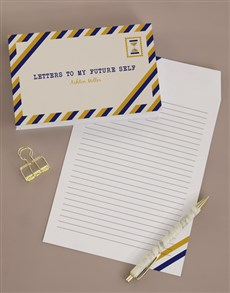 gifts: Personalised Letters To My Future Self Notebook!