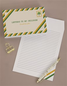 gifts: Personalised Letters To My Grandchild Notebook!