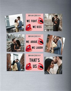 gifts: Personalised Thats Us Magnets!