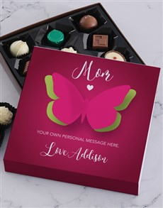 gifts: Personalised Butterfly Mom Choc Tray!