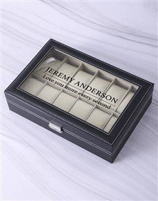 gifts: Personalised Every Second Watch Box!