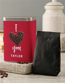 gifts: A Latte Love Coffee Tin!
