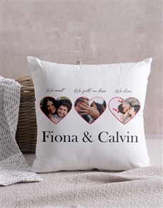 gifts: Personalised Love Story Scatter Cushion!