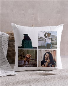 gifts: Personalised Four Photo Scatter Cushion!