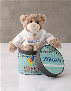 gifts: Personalised Happy Birthday Teddy Bear!