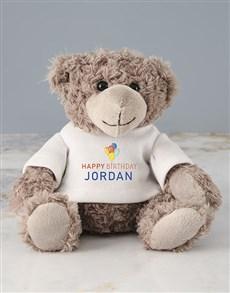 gifts: Personalised Happy Birthday Teddy Bear!