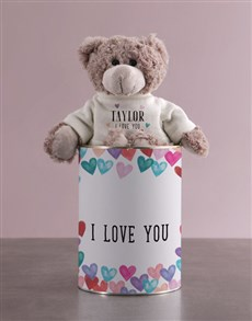 gifts: Personalised Teddy Bear of Love!