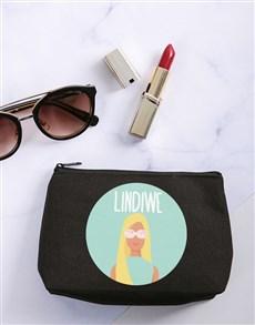 gifts: Personalised Barbie Summer Cosmetic Bag!