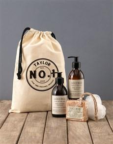 gifts: Personalised Stamp Rooibos Bath Time Bag!