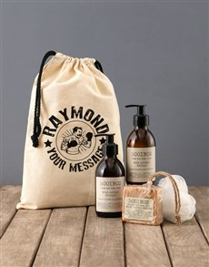 gifts: Personalised Boxer Rooibos Bath Time Bag!